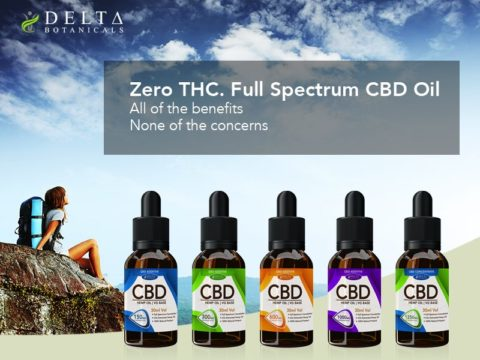 Delta Botanicals CBD Oil Review by 10 CBD Oil