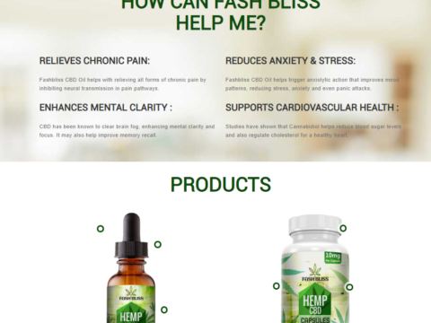 Fash Bliss CBD Oil Review by 10 CBD Oil