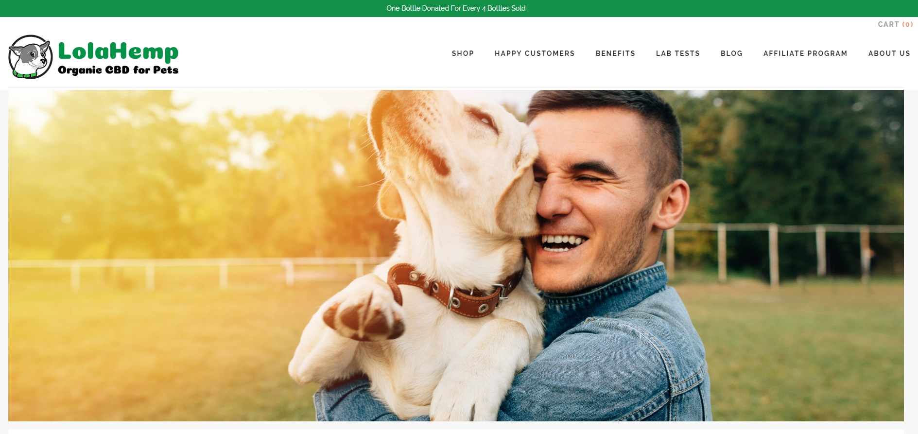 LolaHemp CBD For Pets Review CBD Oil Review by 10 CBD Oil